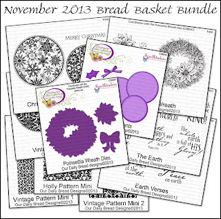 Stamps - Our Daily Bread Designs November 2013 Bread Basket Bundle