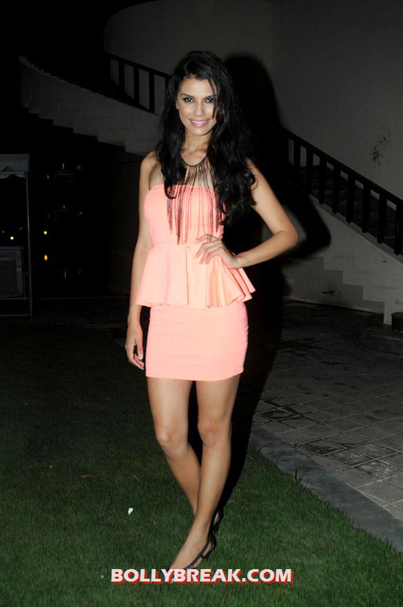 Gabriela Bertante in hot dress - Gabriela Bertante Hot Pics with Mika Singh - Pyaar Ka Bhopu Song Model