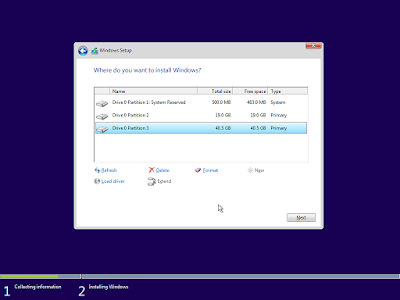Cara Clean Install Windows 10