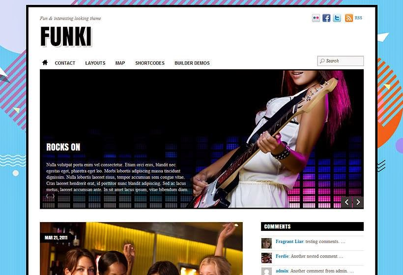 funki-wordpress-theme