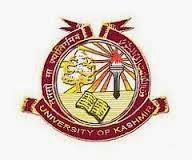 Kashmir University Time Table 2016