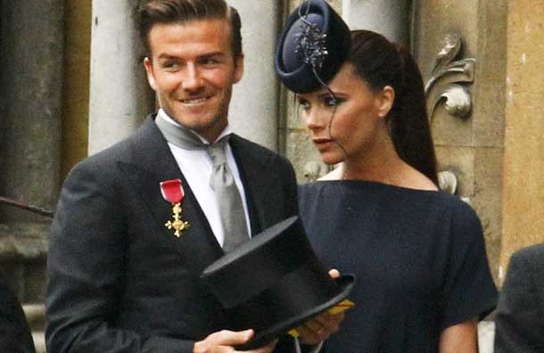David And Victoria Beckham Steal The Show At Royal Wedding