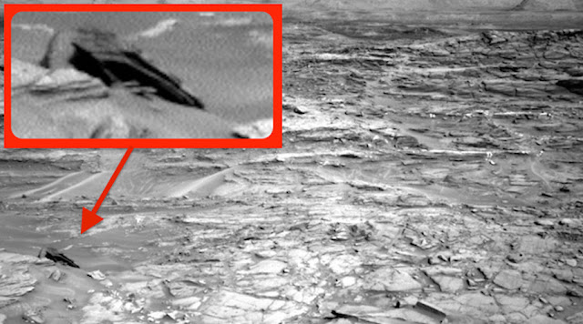 Star Destroyer Found On Mars? 'Crashed UFO' Resembles Famous Star Wars Ship