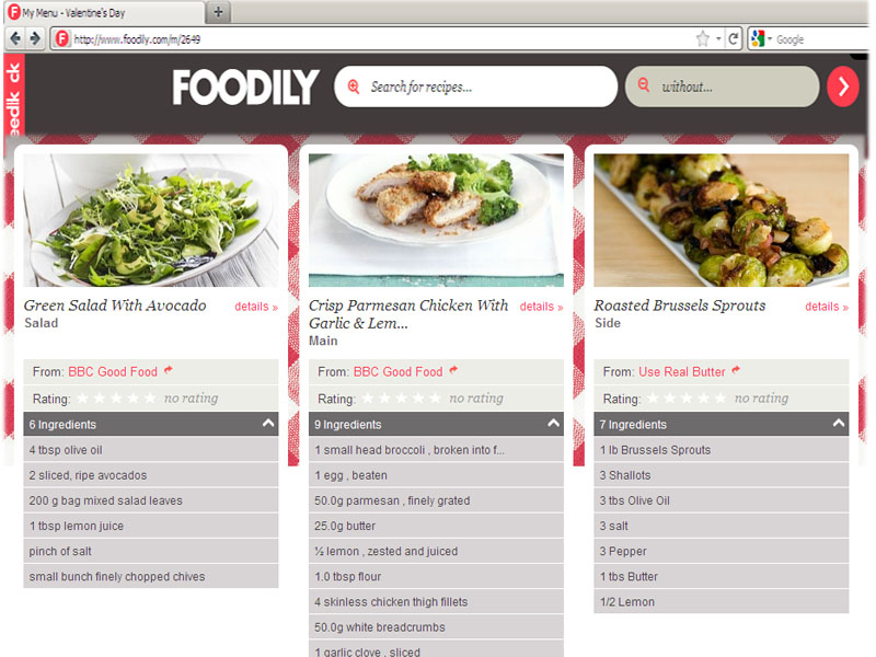 Recipe search engine worlds largest recipe search engine simply foodily the foodily recipe network lets chefs at home browse through the worlds largest recipe search engine for that perfect home cooked meal forumfinder Gallery