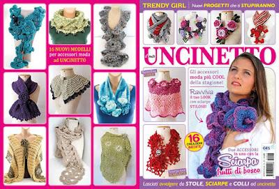 Meus trabalhos na Revista Italiana - Trendy Girl