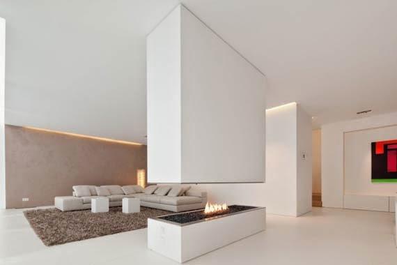 Casa de dise o de interiores belleza casa blanca de for Diseno de la casa interior