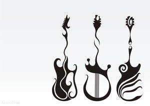 Desenhos de tattoos de rock