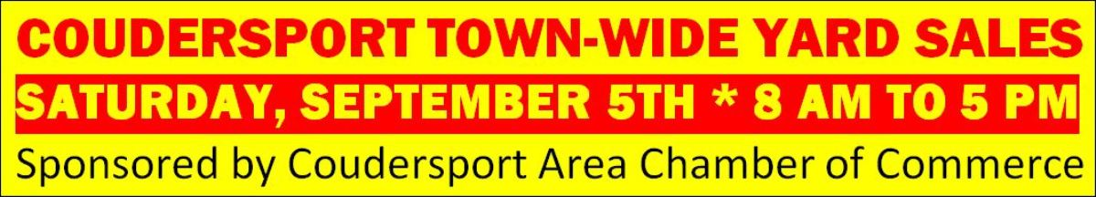 Coudersport Town Wide Sales