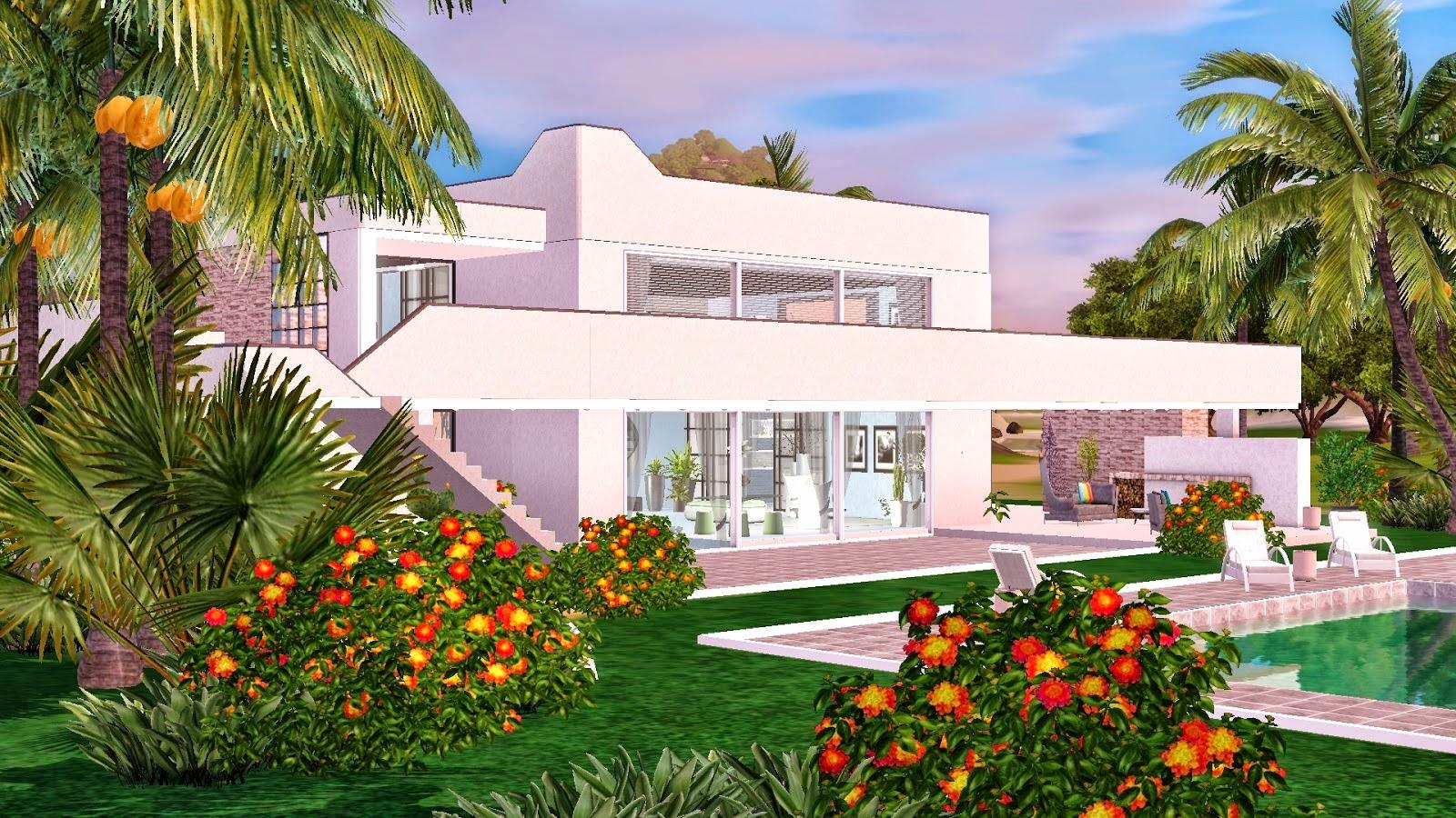 Download muito mais the sims casa para the sims 3 the for Foto casa gratis