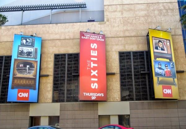 The Sixties CNN billboards