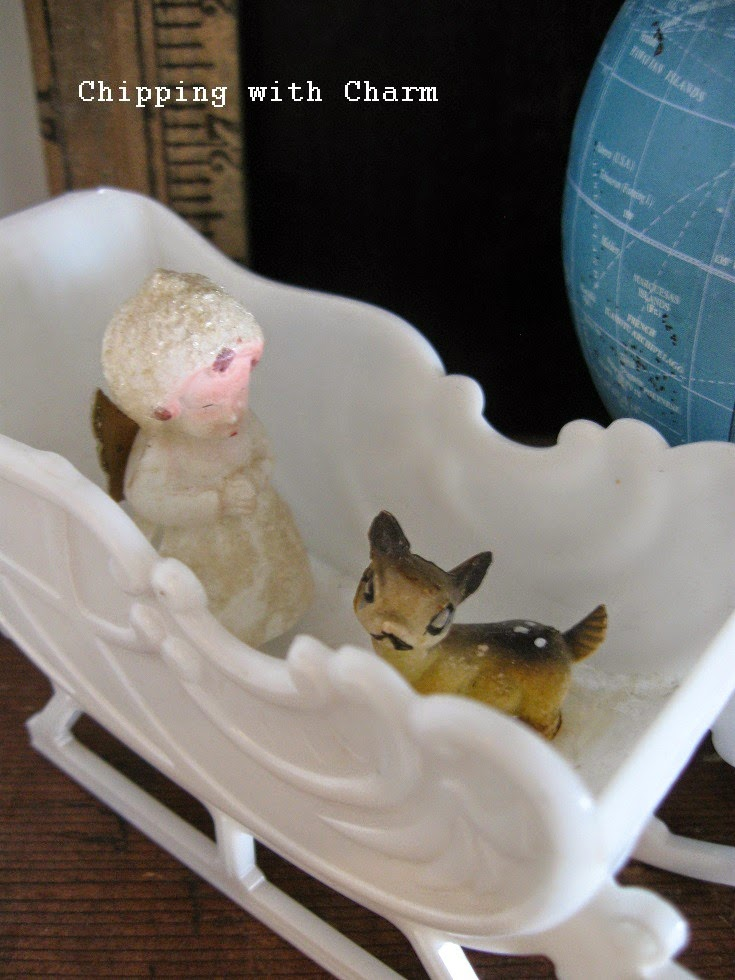 Chipping with Charm: Vintage Deer...http://www.chippingwithcharm.blogspot.com/