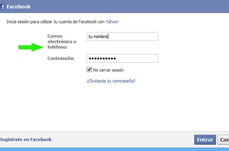 iniciar sesión en facebook facebook
