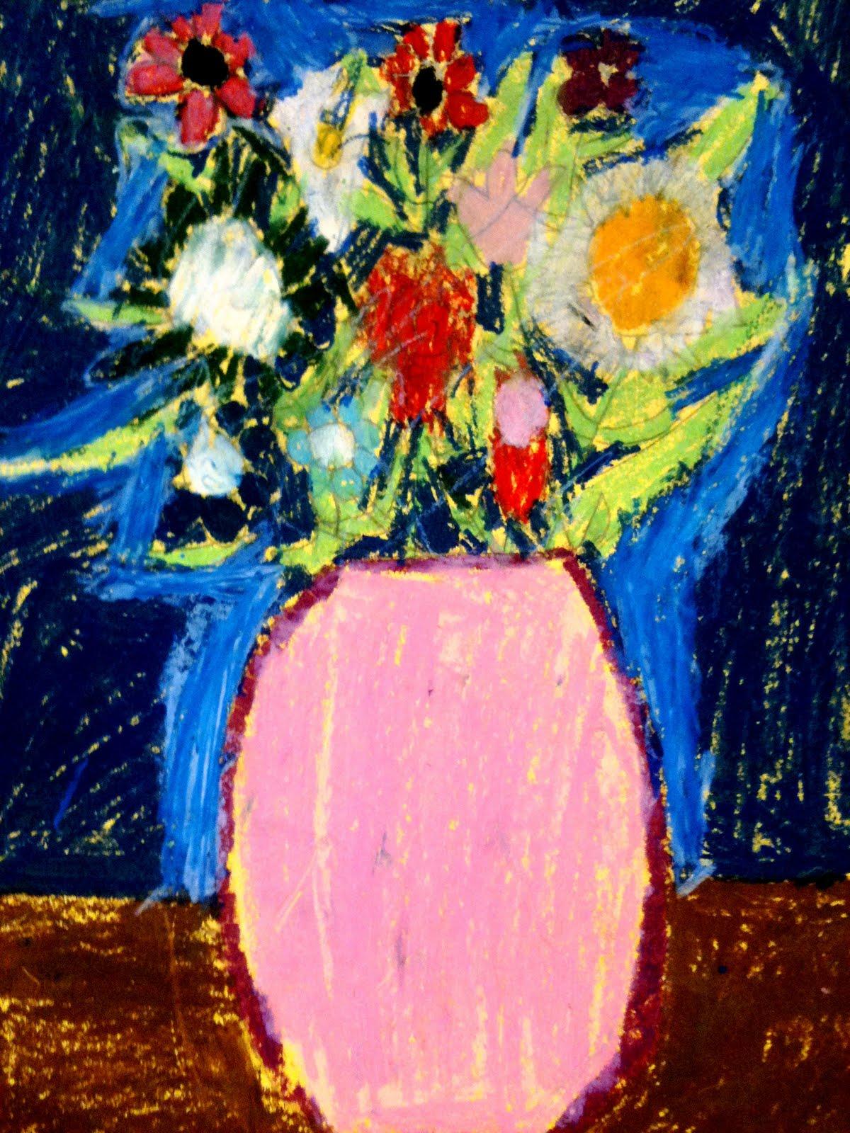 3rd Grade Flowers In Vases