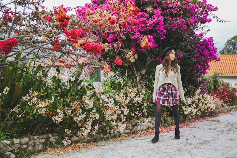 fashion, miami fashion, miami fashion blogger, fashion bloggers, daniela ramirez, nany's klozet, venezuela fashion, travel, plaid skirt