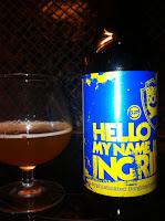 Andra dansen med Ingrid - BrewDog/Beer Sweden Hello, My Name is Ingrid