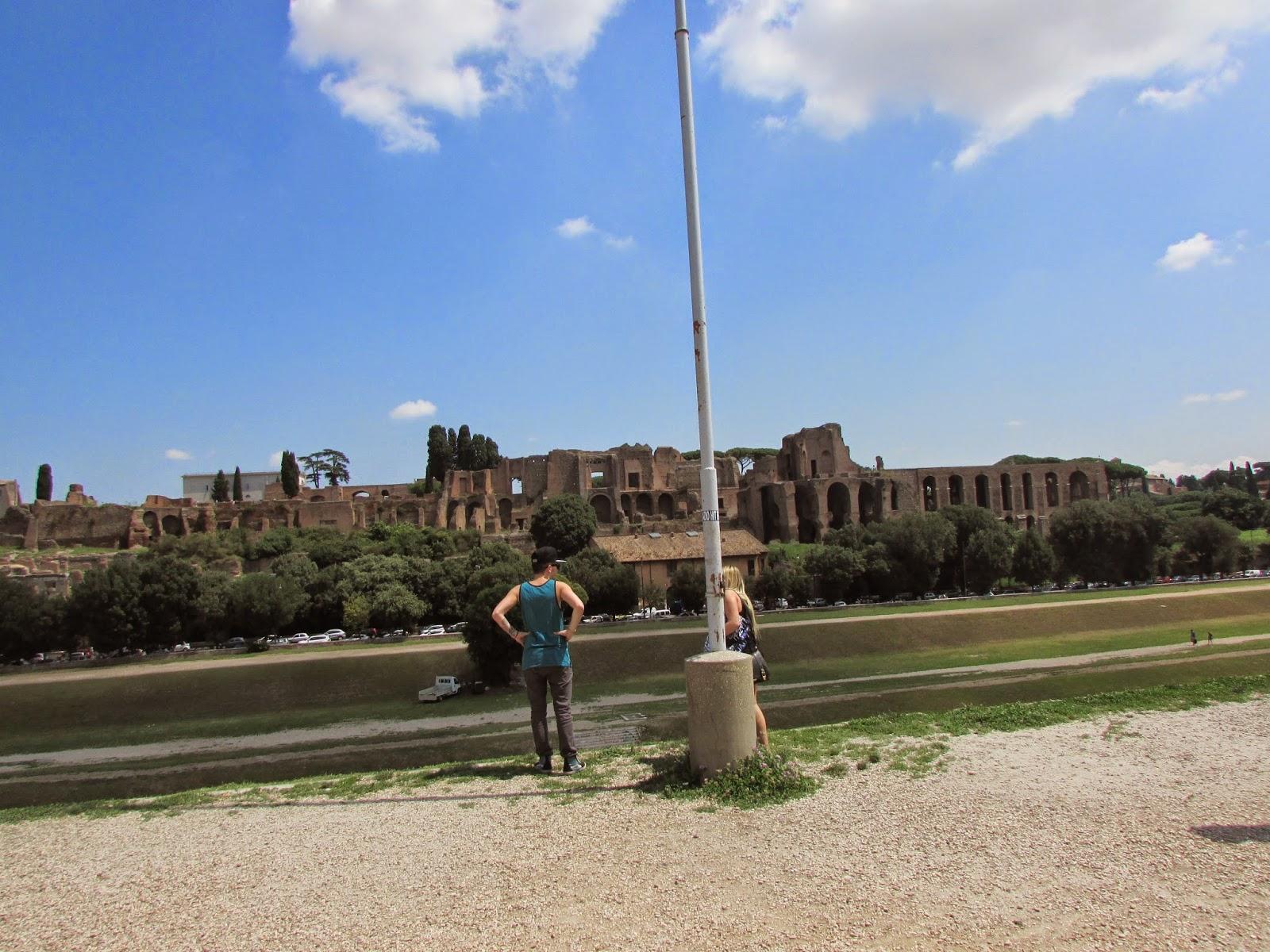 Itália, Roma, turismo, Europa, Italy, travel, trip, viagem, Italia, Vaticano, Basílica de São Pedro, Circus Maximus, Palatino