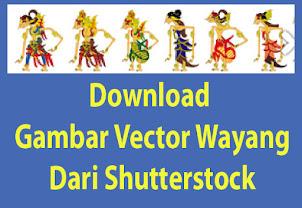 Download Gambar Vector Wayang