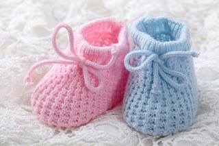 Sepatu Bayi Pink Biru