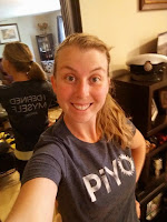 My t-shirt for completing the piyo 60 day program.