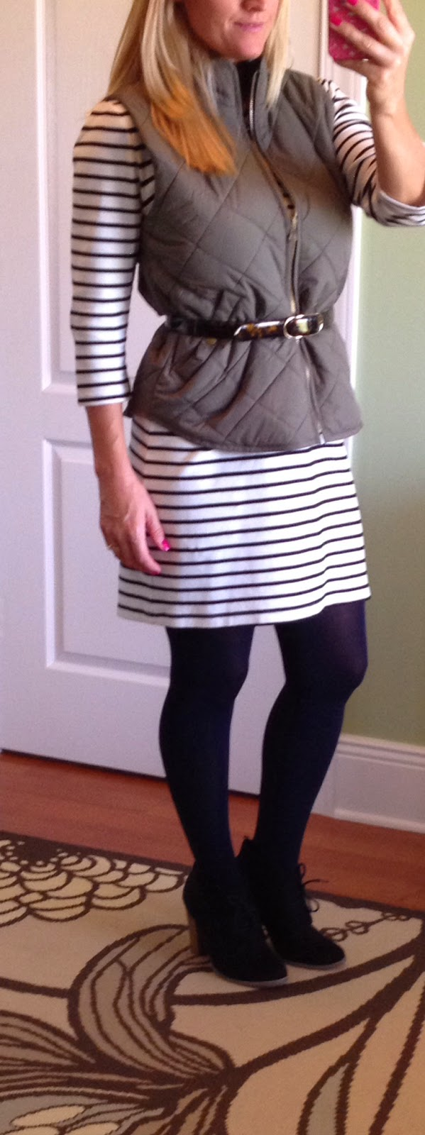 Transition Summer Dress to Fall and Winter