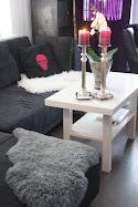 Makeover av et hvitt sofabord