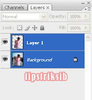 layer background , beri efek blur pada background foto dengan cara ...