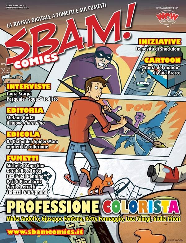 Sbam! Comics #11 - Nel buio