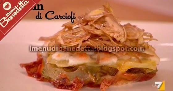 Tatin ai carciofi la ricetta di benedetta parodi for Mozzarella in carrozza parodi