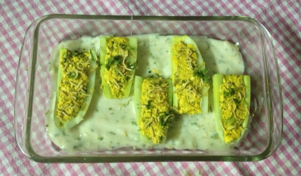 WHAT WE'RE COOKING TODAY: CHATPATI CUCUMBER BOATS