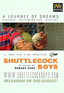 Shuttlecock Boys Movie Poster 2012
