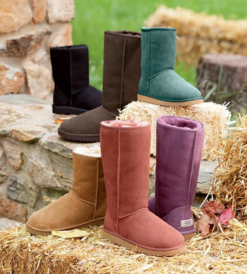 Plow & Hearth Footwear Collection, Women's Boots, Fall Boot Collection For Women, Jewel Colored Boots For Fall, UGG® Boots Fall 2012