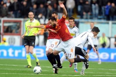 Cesena Roma 2-3 highlights 13 maggio