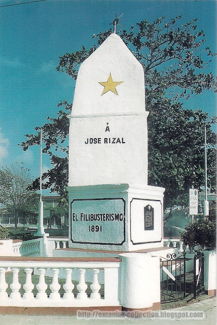The First Rizal Monument in Daet, Camarines Norte