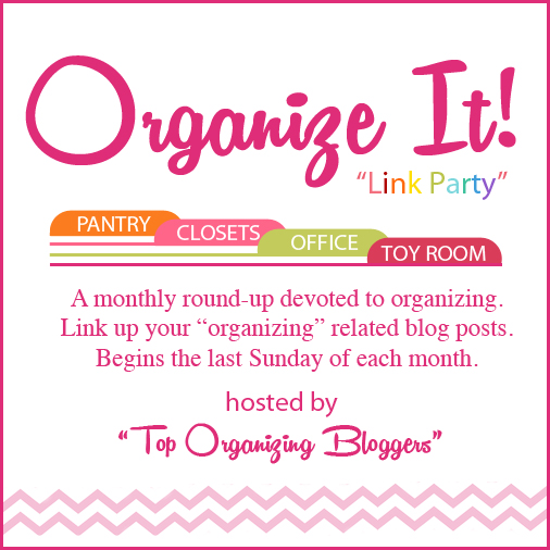 Organize It Monthly Link Party For June!
