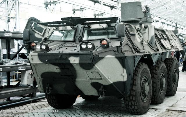 Irak Berminat Membeli 500 Panser Buatan Pindad