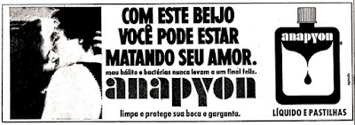 1975, os anos 70; propaganda na década de 70; Brazil in the 70s, história anos 70; Oswaldo Hernandez;