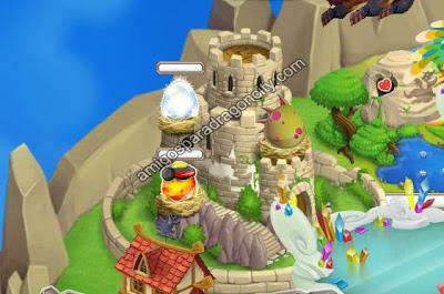 imagen del dragon wyvern en la torre nidal