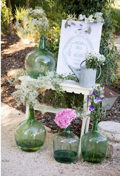 Paso paso que me caso decorar con hortensias - Decoracion con hortensias ...