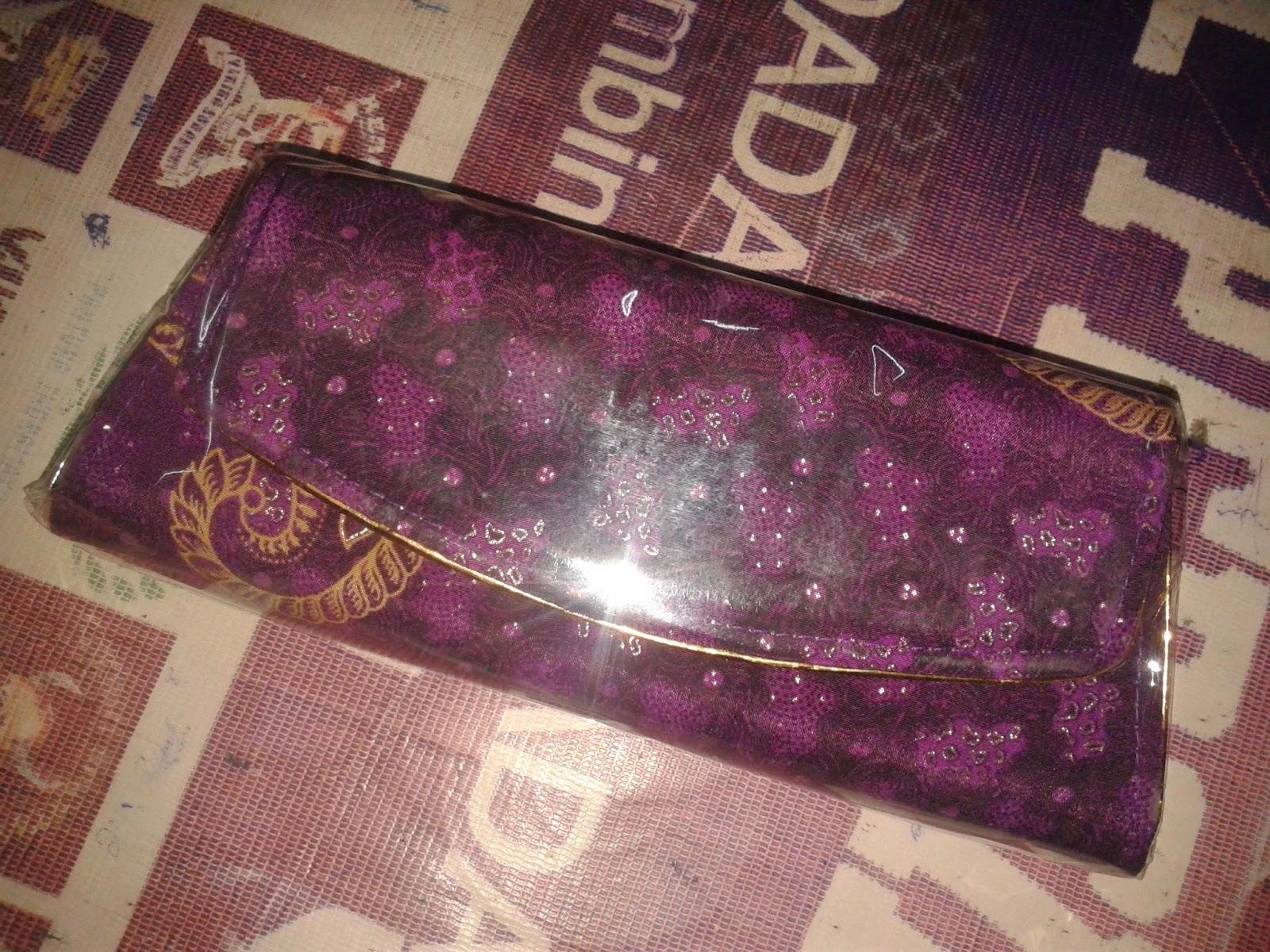 kerajinan rajapolah Dompet batik