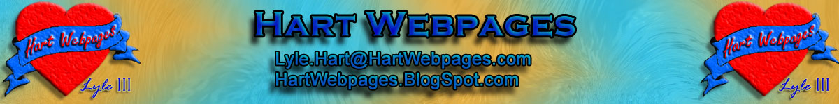 Hart Webpages Header