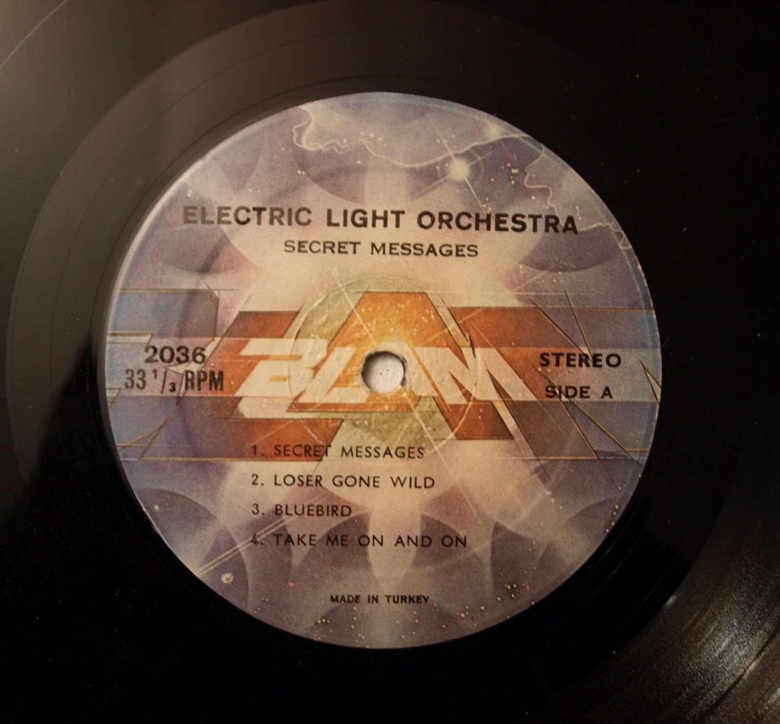 ELO Related Vinyl: Electric Light Orchestra: Secret ...