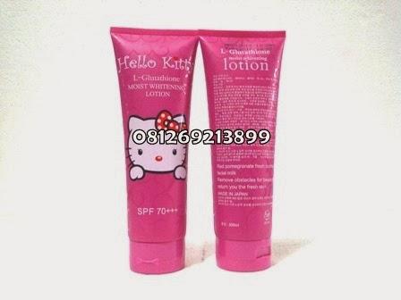 Hello Kitty Lotion SPF 70