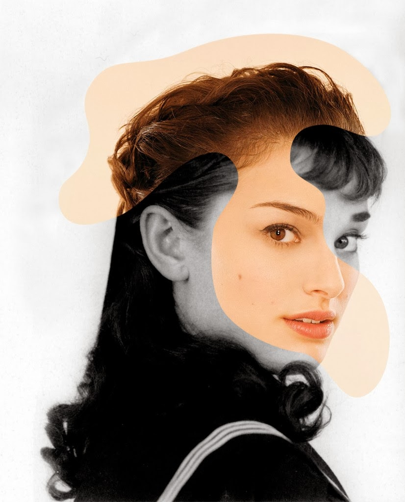 03-Audrey-Hepburn-Natalie-Portman-icon-Actor-Mashup-Photos-George-Chamoun-www-designstack-co