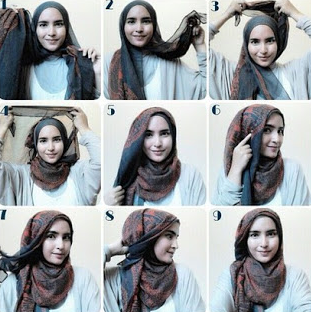 Tutorial Hijab Pashmina Casual Terbaru