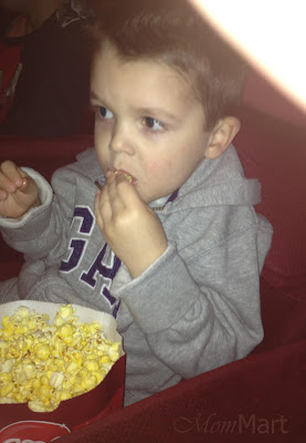 first movie theater experience.
