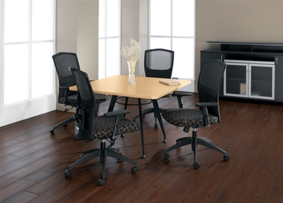 The office furniture blog at cool cafe for Small square room