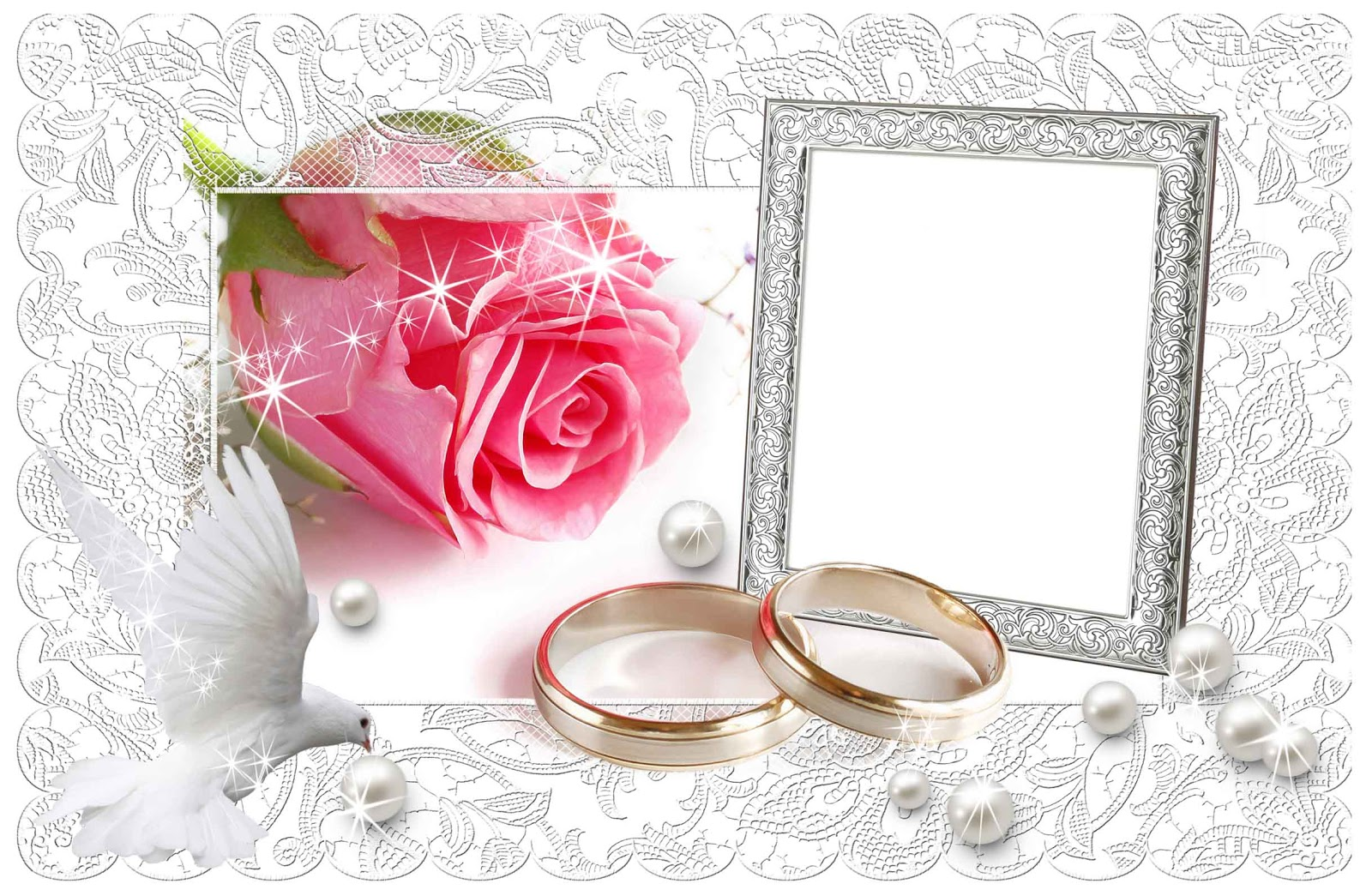 wedding png frame scraps