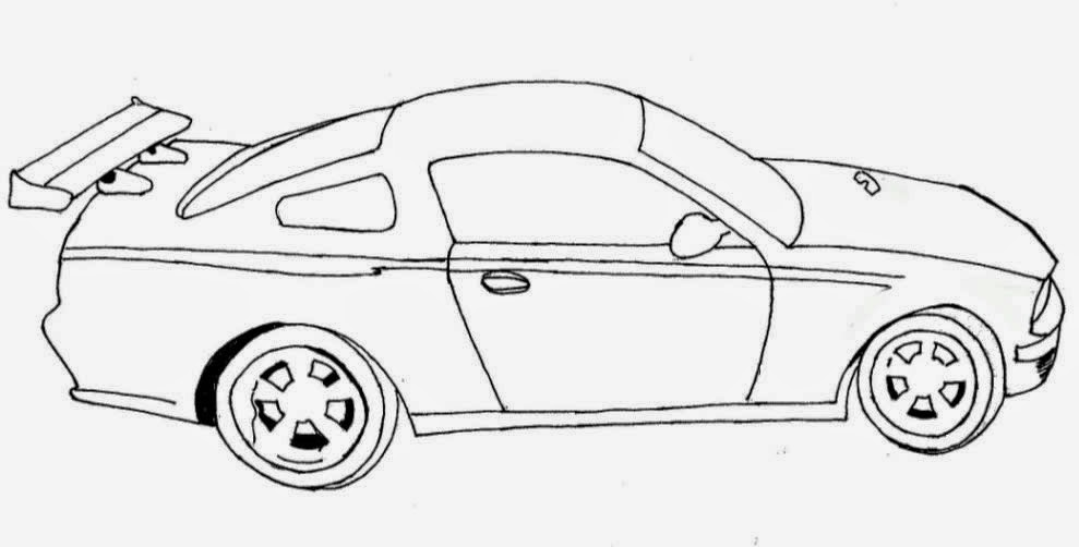 Desenhos para colorir Carros da Hot Wheels para colorir
