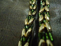 Gold + Green