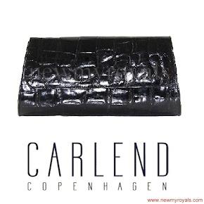 Queen Maxima Style CARLAND COPENHAGEN Aicha Crocodile Clutch